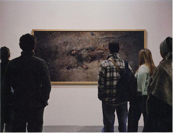 展覽作品為Taliban Soldier/Luc Delahaye, 2001(圖片來源:Unreal Nature)