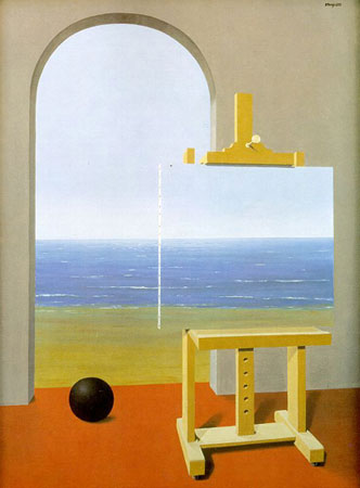 magritte_humanCondition1935
