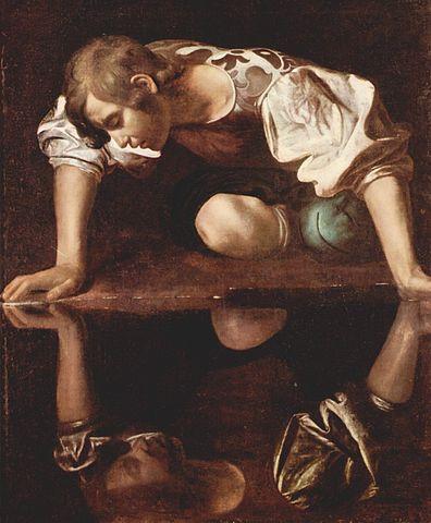 NarcissusByCaravaggio