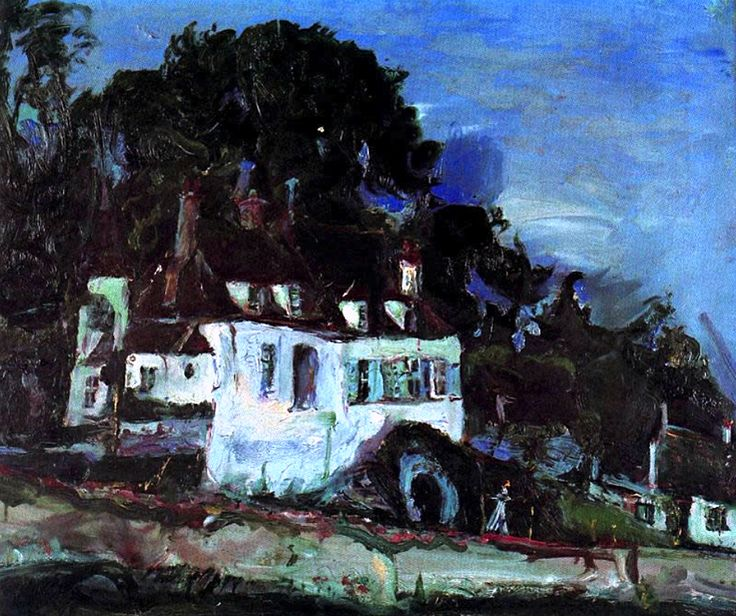 Soutine_House_at_Oiseme