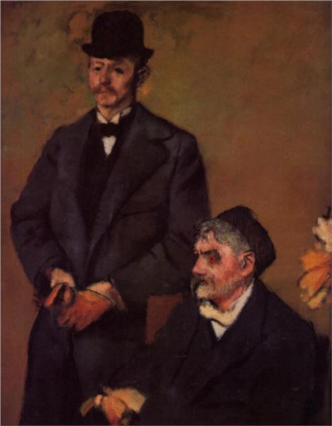 Degas_henri-rouart-and-his-son-alexis