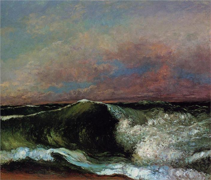 Courbet_the-wave-1870