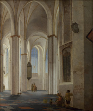 saenredam-interior-buurkerk-utrecht