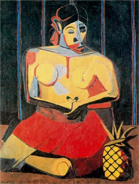 Tamayo_woman-with-pineapple-1941