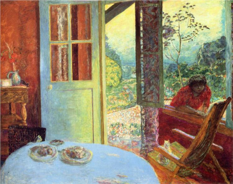Bonnard_the-dining-room-in-the-country-1913