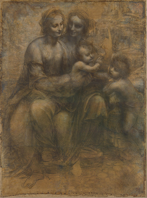 Leonardo_Virgin_and_Child_with_St_Anne