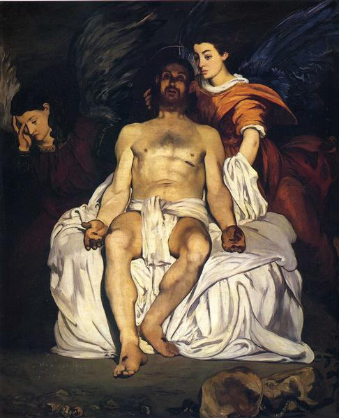 Manet_the-dead-christ-with-angels-1864