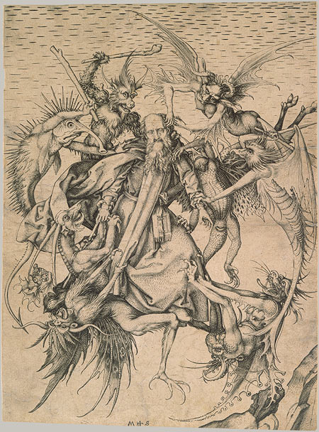Schongauer_StAnthonyTempted