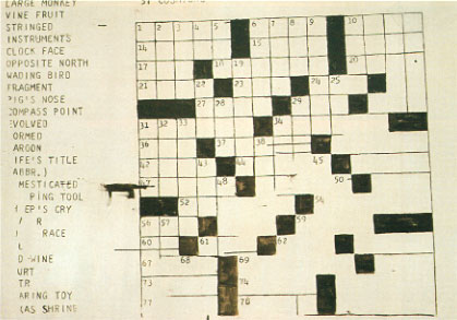 Warhol_Crossword1961