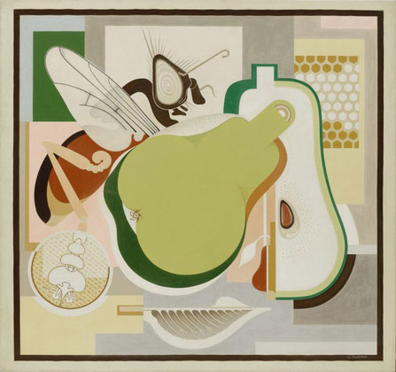 Murphy_wasp-and-pear1927