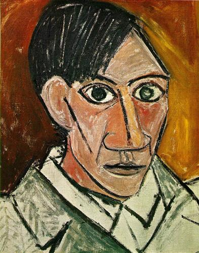 Picasso_self_portrait1907