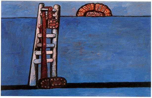 Guston_Ladder1978