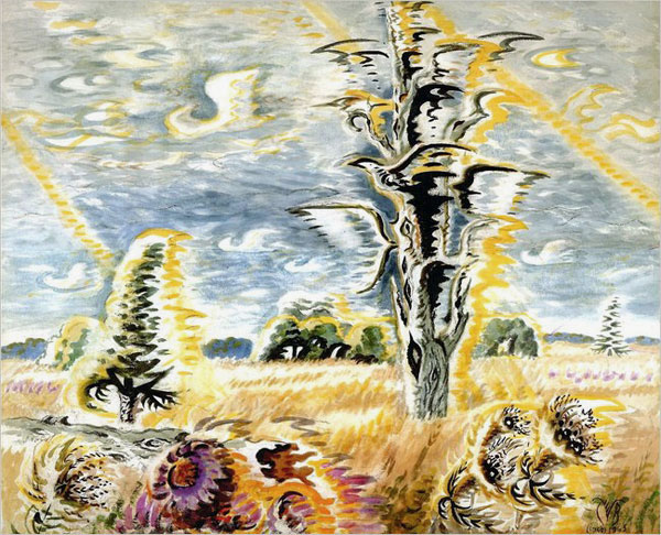 Burchfield_SparrowhawkWeather