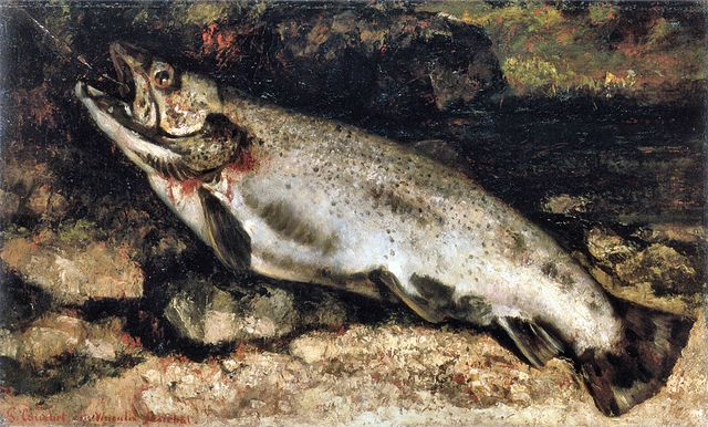courbet_thetrout